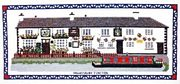 The Greyhound, Hawkesbury Junction - Abacus Designs Cross Stitch Kit