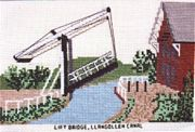 Lift Bridge, Llangollen Canal - Abacus Designs Cross Stitch Kit