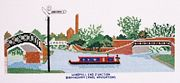 Windmill End, Birmingham Canal Navigations - Abacus Designs Cross Stitch Kit
