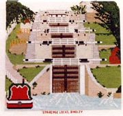 Staircase Locks, Bingley (Bingley Five Rise) - Abacus Designs Cross Stitch Kit