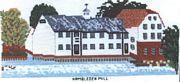 Hambleden Mill, River Thames - Abacus Designs Cross Stitch Kit