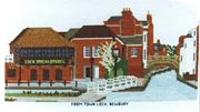 From Town Lock, Newbury - Abacus Designs Cross Stitch Kit