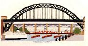 Abacus Designs Tyne Bridge Cross Stitch Kit