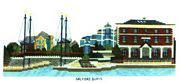 Salford Quays - Abacus Designs Cross Stitch Kit