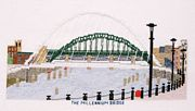 Millennium Bridge (Tyne and Wear) - Abacus Designs Cross Stitch Kit