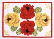 Canal Roses - Abacus Designs Cross Stitch Kit