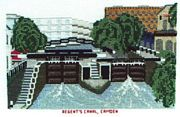 Regent's Canal, Camden - Abacus Designs Cross Stitch Kit
