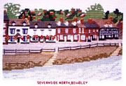 Severnside North, Bewdley - Abacus Designs Cross Stitch Kit