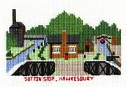 Sutton Stop, Hawkesbury Junction - Abacus Designs Cross Stitch Kit