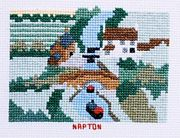 Napton, Oxford Canal - Abacus Designs Cross Stitch Kit