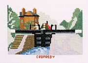 Cropredy Lock, Oxford Canal - Abacus Designs Cross Stitch Kit