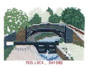 Isis Lock, Oxford Canal - Abacus Designs Cross Stitch Kit