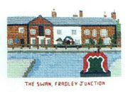The Swan, Fradley Junction - Abacus Designs Cross Stitch Kit