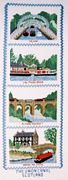 Union Canal (Scotland) Sampler - Abacus Designs Cross Stitch Kit