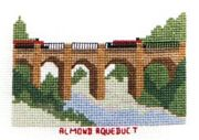 Almond Aqueduct, Union Canal - Abacus Designs Cross Stitch Kit