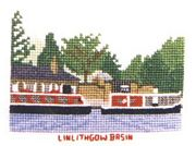 Linlithgow Basin, Union Canal - Abacus Designs Cross Stitch Kit
