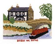 Bridge Inn, Union Canal - Abacus Designs Cross Stitch Kit