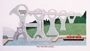 The Falkirk Wheel - Abacus Designs Cross Stitch Kit