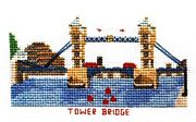 Abacus Designs Tower Bridge, London (smaller kit) Cross Stitch Kit