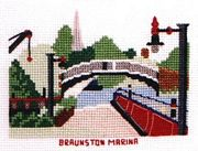 Braunston Marina - Abacus Designs Cross Stitch Kit