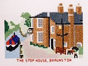The Stop House, Braunston - Abacus Designs Cross Stitch Kit