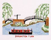 Braunston Turn - Abacus Designs Cross Stitch Kit