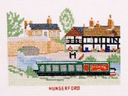 Hungerford, Kennet and Avon Canal - Abacus Designs Cross Stitch Kit
