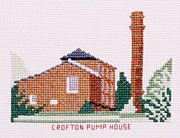 Crofton Pump House, Kennet and Avon Canal - Abacus Designs Cross Stitch Kit