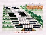 Caen Hill Flight, Kennet and Avon Canal - Abacus Designs Cross Stitch Kit