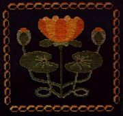 Abacus Designs Water Lily Cross Stitch Kit