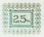 25th (Silver) Anniversary - Abacus Designs Cross Stitch Kit
