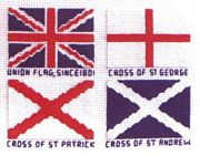The Union Flag - Abacus Designs Cross Stitch Kit