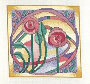 Derwentwater Designs Mackintosh Window Cross Stitch Kit