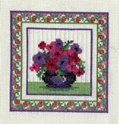 Derwentwater Designs Anemones Cross Stitch Kit