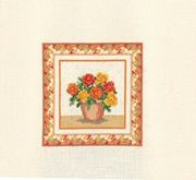 Derwentwater Designs Begonias Cross Stitch Kit