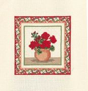 Derwentwater Designs Geraniums Cross Stitch Kit