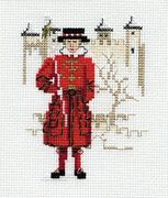 Derwentwater Designs Beefeater Cross Stitch Kit