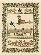 Derwentwater Designs Country Life Cross Stitch Kit