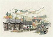Derwentwater Designs Cumbrian Village Cross Stitch Kit