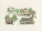 Derwentwater Designs Cotswold Village Cross Stitch Kit