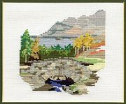 Derwentwater Designs Ashness Bridge Cross Stitch Kit