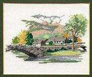Derwentwater Designs Grange in Borrowdale Cross Stitch Kit