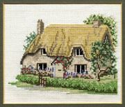 Derwentwater Designs Betty's Cottage Cross Stitch Kit