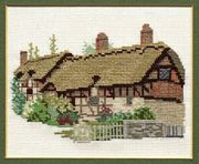 Derwentwater Designs Ann Hathaway's Cottage Cross Stitch Kit