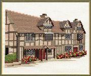 Derwentwater Designs Shakespeare's Birthplace Cross Stitch Kit