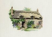 Derwentwater Designs Thornton Le Dale Cottage Cross Stitch Kit