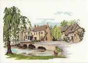 Derwentwater Designs Bourton on the Water Cross Stitch Kit