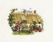 Derwentwater Designs Midsummer Thatch Cross Stitch Kit