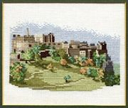 Derwentwater Designs Edinburgh Castle Cross Stitch Kit