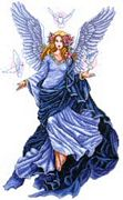 Celestial Angel - Design Works Crafts Cross Stitch Kit